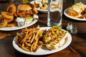 An assortment of food from The Fix. // Photo by Zach Bauman