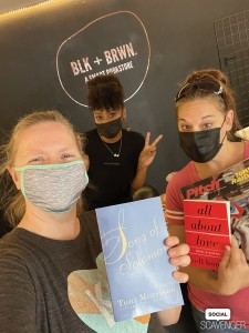 """""""The Good Troop and our friend Cori at BLK + BRWN say #buyblackbooks"""" // Courtesy team The Goof Troop"""