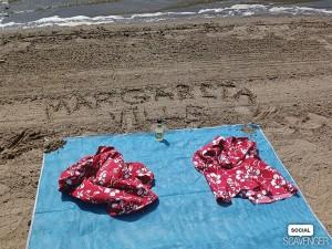 """Beach, sunshine, margaritas. My happy place."" // Courtesy team KC Margaritaville"
