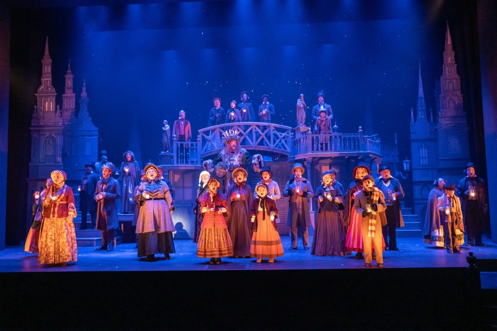 The Cast Of Kcreps 2019 Production Of A Christmas Carol Photo By Don Ipock 1