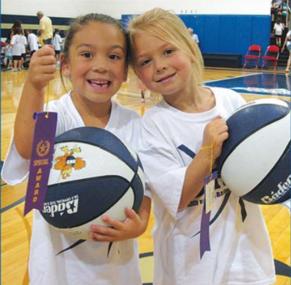 Golden Eagle Girl's Basketball Camps