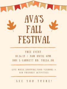 Ava's Flea Market Fall Festival @ Ava's Flea Market