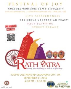 Free | Festival of Joy @ Hindu Temple of Oklahoma | Oklahoma City | Oklahoma | United States