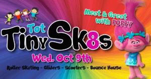 Tiny Tot Skate with Poppy The Troll @ SKATES Roller Skating Entertainment Center   Sand Springs   Oklahoma   United States