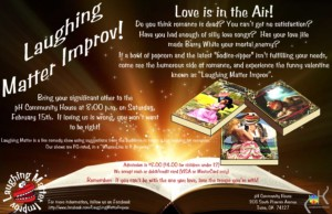 Laughing Matter Improv - Love is in the Air! @ pH Community House