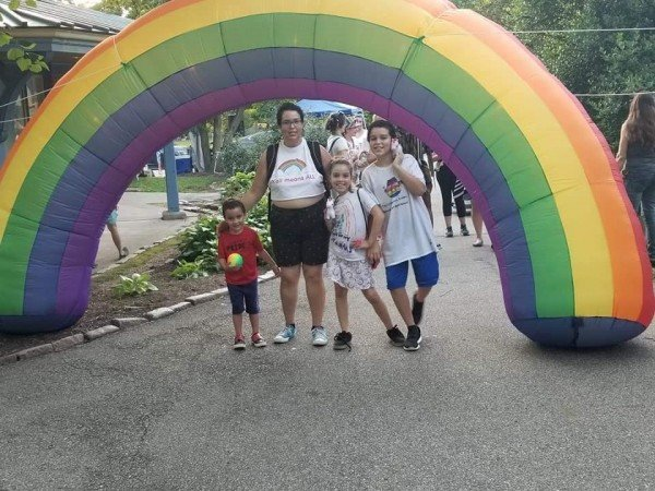 Tower Grove Pride 2019. Photo By Olivia Cotter, Taken June, 29, 2019
