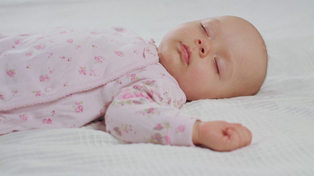 Baby Waking Up From Sleep