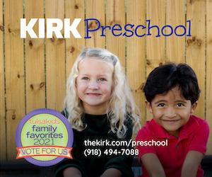 Kirk Preschool Vote For Us Ad