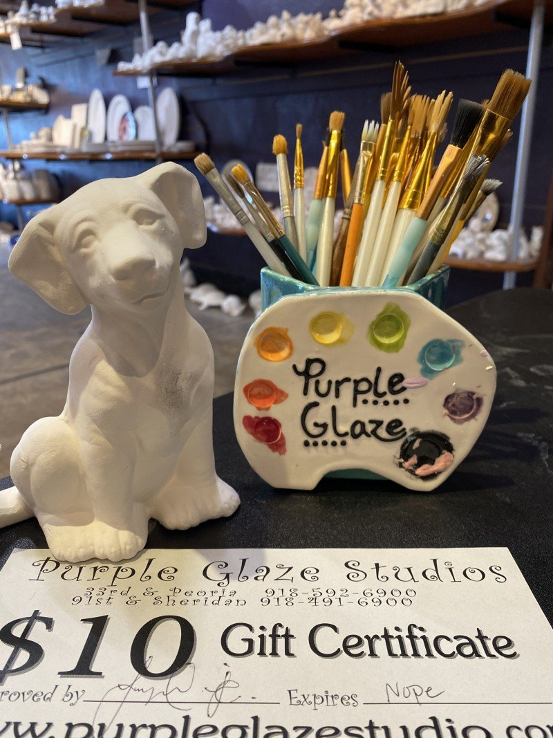 Purple Glaze Studio