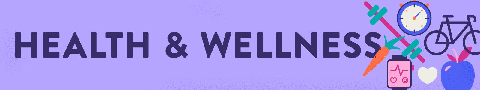 Health Wellness Header Narrow