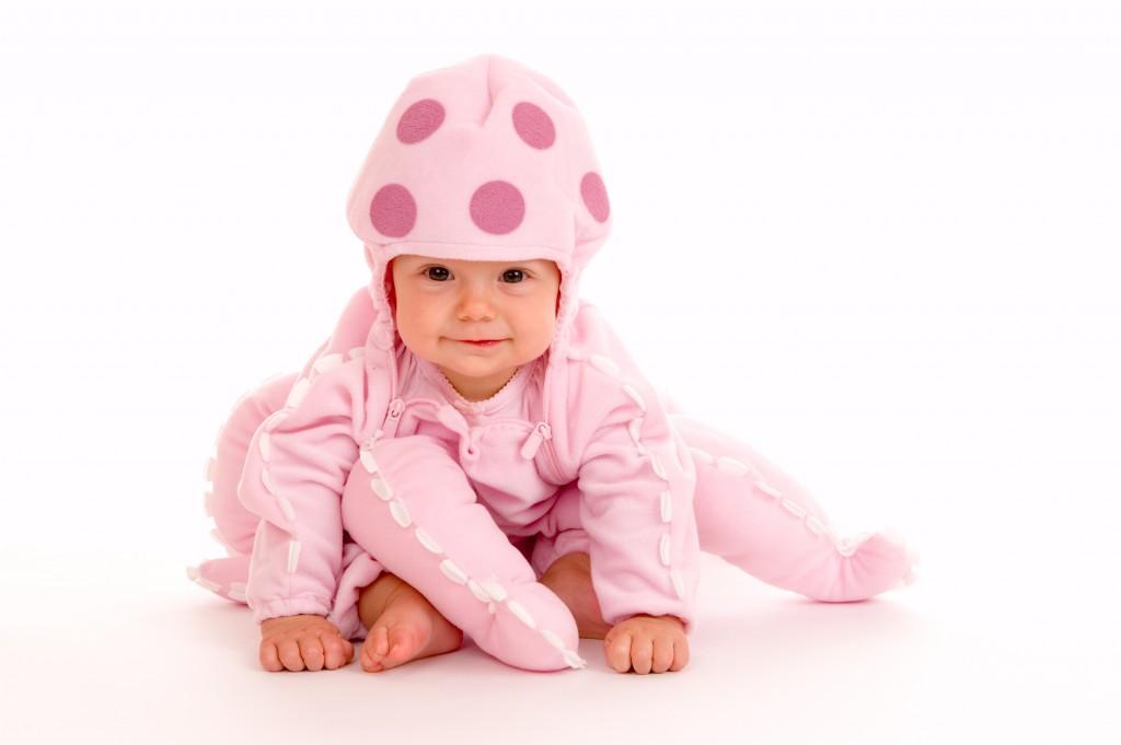 Baby In Halloween Costume