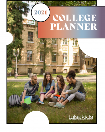 2021 College Planner Cover