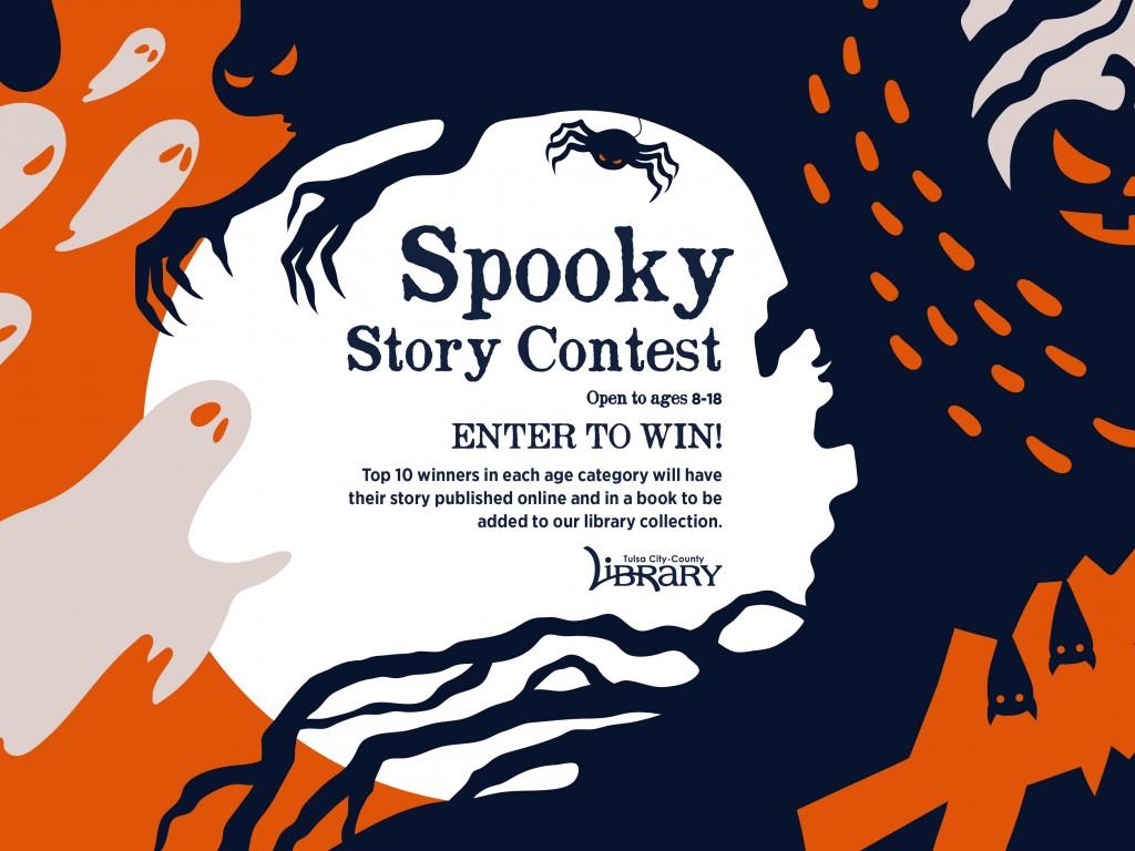 Spooky Story Contest 2021 Social Media