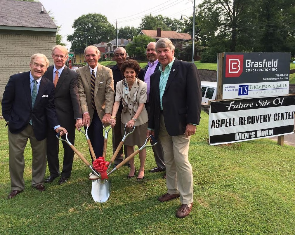 aspell recovery center breaks ground on new facility wbbj tv
