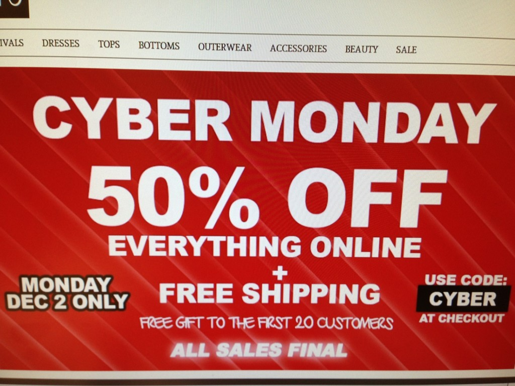 Cyber Monday. Cyber Monday has come and gone, but the savings don't stop there! Cyber Monday is followed by Cyber Days, the biggest online shopping event of the year.