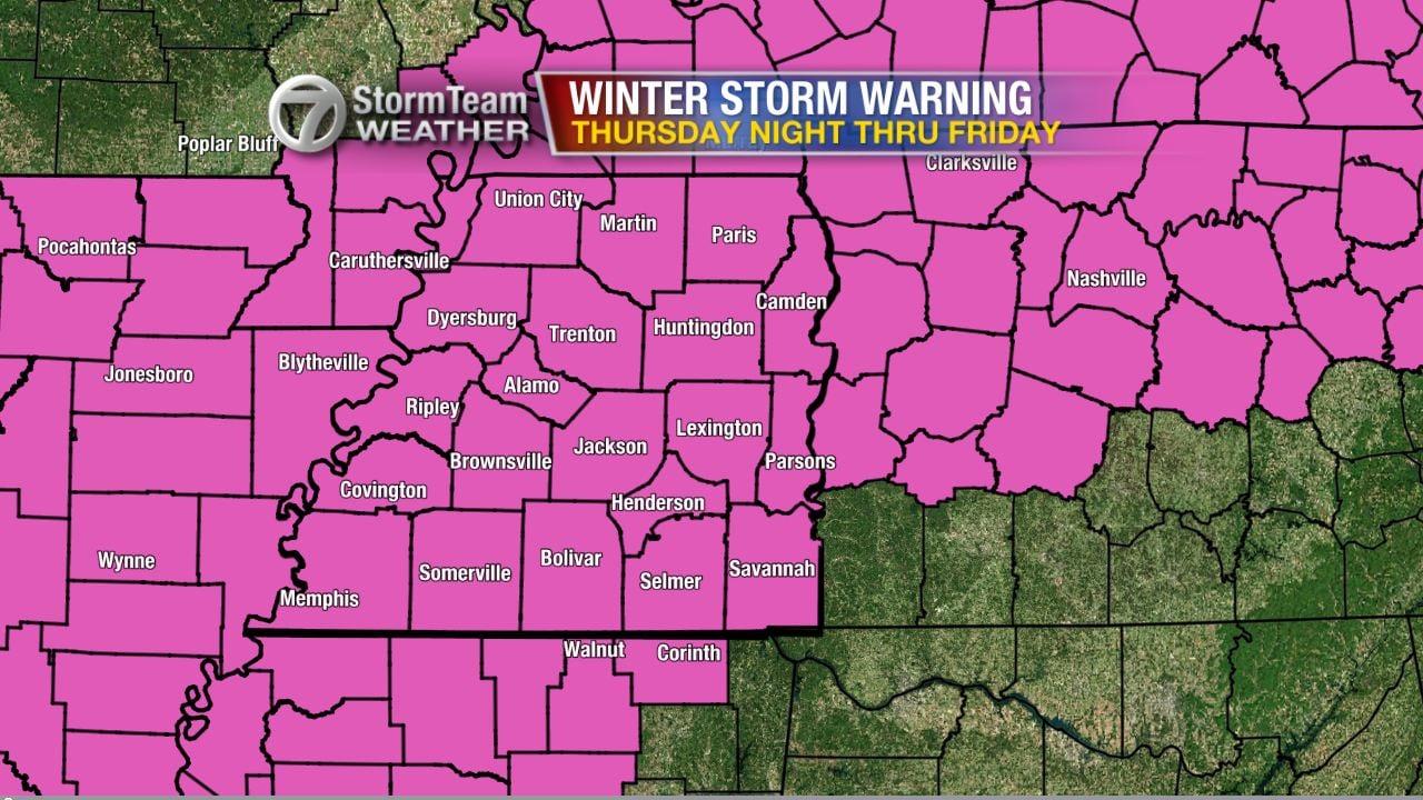 Winter Storm Warning: Major Winter Storm Approaching