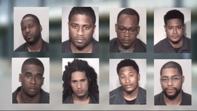 8 Jackson men included in alleged Gangster Disciple