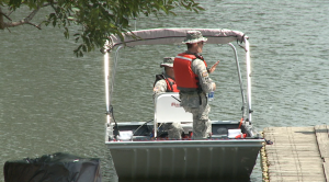 NG water search training