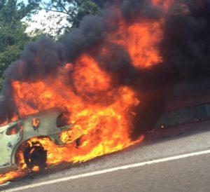 Benton Co. vehicle fire crop 2