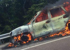 Benton Co. vehicle fire crop