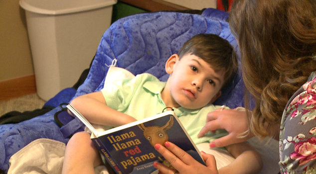 Boy with rare, incurable disease asks for cards for birthday