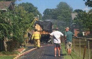 Franwood Drive fire