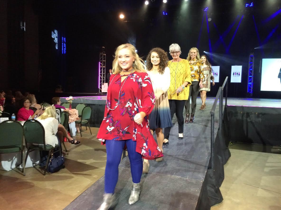 Cancer Society Fund Raising Fashion Show