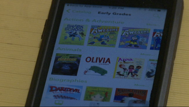 Open eBooks' app gives West Tenn  students access to free