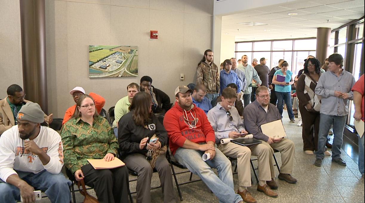 Hundreds turn out for TDOT open job interview - WBBJ TV