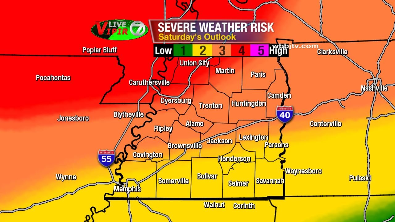 Severe Weather Threat On The Increase - WBBJ TV