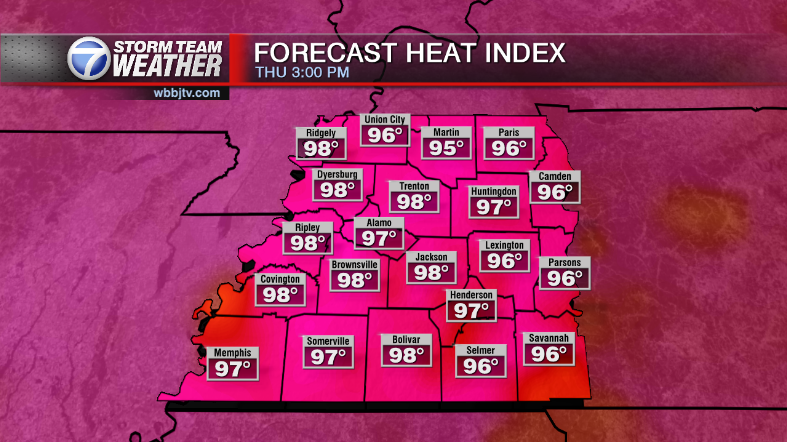 Hot and Humid Weather Continues - WBBJ TV