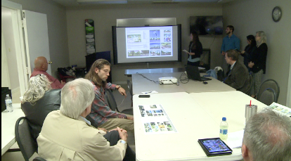 architecture students present master plan for aspell recovery center