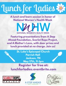 Lunch for Ladies 'Lunch & Learn Session' @ St. Luke's Episcopal Church
