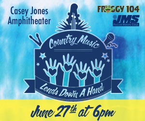 Country Music Lends Down a Hand Concert @ Casey Jones Amphitheater