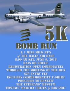 DYAAB 5K Bomb Run @ DYAAB Memorial Veterans' Museum