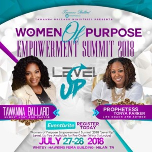 Wome of Purpose Empowerment Summit @ Whitby Hawkins FEMA Building
