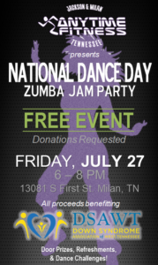 National Day Day Zumba Party @ Anytime Fitness of Milan
