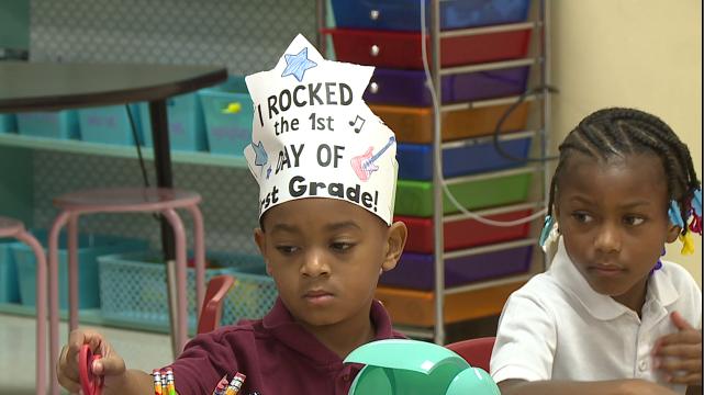 Teachers Help Students Adjust On First Day Back To School Wbbj Tv