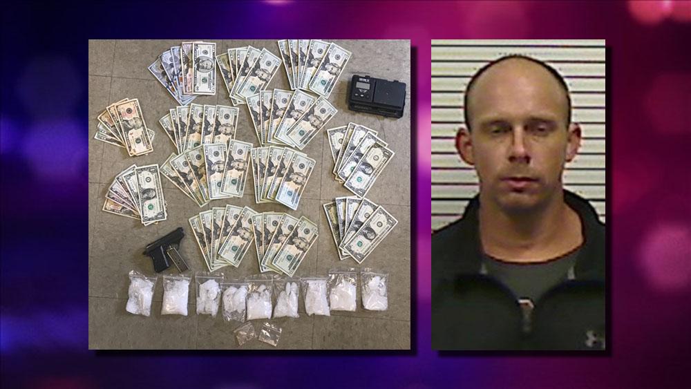 Man sleeping on roadside had half-pound of meth, deputies
