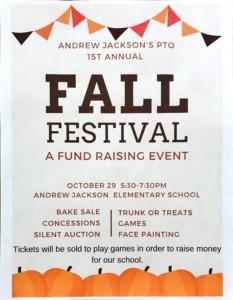 Andrew Jackson Elementary School Fall Festival Wbbj Tv