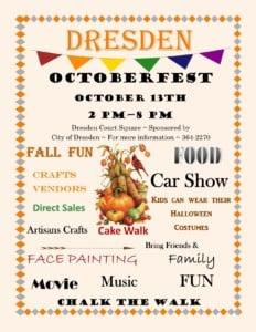City Of Dresden OctoberFest @ Octoberfest | Dresden | Tennessee | United States