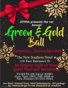Green and Gold Ball @ New Southern Hotel | Jackson | Tennessee | United States