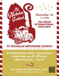 St. Nicholas Festival @ St. Nicholas Orthodox Church | Jackson | Tennessee | United States