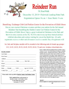 Reindeer 5K Run/Walk @ Pickwick Landing State Park | Counce | Tennessee | United States