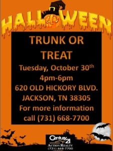 CENTURY 21 Action Realty TRUNK OR TREAT @ CENTURY 21 Action Realty TRUNK OR TREAT | Jackson | Tennessee | United States