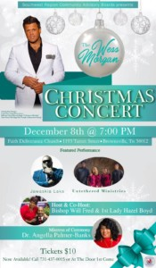 Christmas Concert with The Wess Morgan @ Faith Deliverance Church | Brownsville | Tennessee | United States