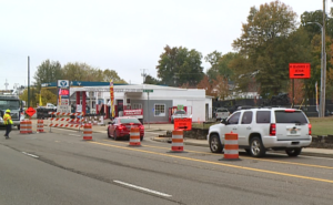 Roundabout construction shuts down part of North Highland