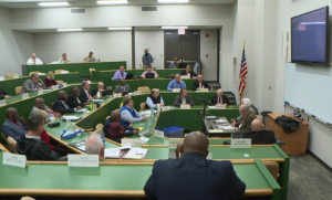 Why should we be surprised! County Commissioners decide to support funding for new schools.