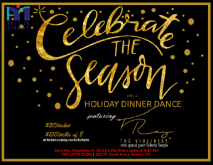 Arts in McNairy Celebrate the Season Dinner Dance @ The Latta Building | Selmer | Tennessee | United States
