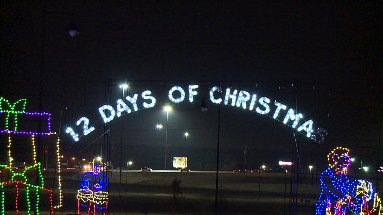 A special Christmas light show returns to Jackson - WBBJ TV